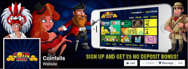 CoinFalls Best Free Mobile Casino - Best Casino App