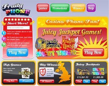 Fruity Phone Casino