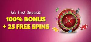 get free spins deposit bonus