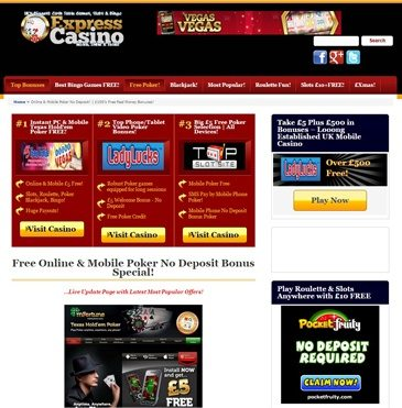 Online casino directory no deposit theatre at monte casino