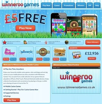 Winneroo Phone Casino