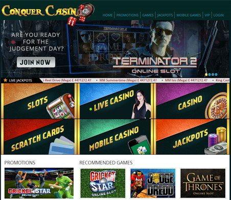 Conquer phone deposit mobile casino