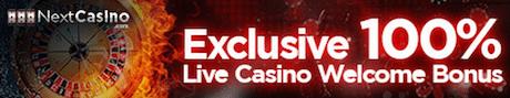 Next Casino - Live Casino Bonus