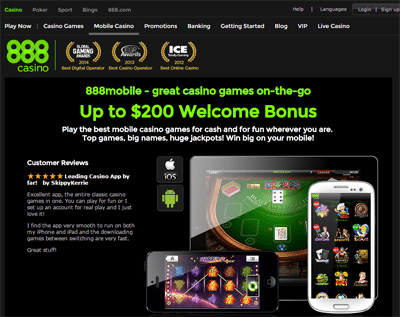 Mobile Phone Casino Deposits