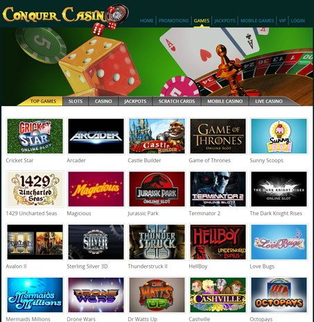 Weekly Surprise at Conquer Casino