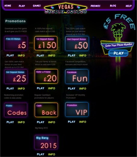 Enjoy the Thrill of vegas Mobile Casino