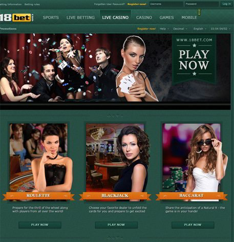 Join at 18Bet.com
