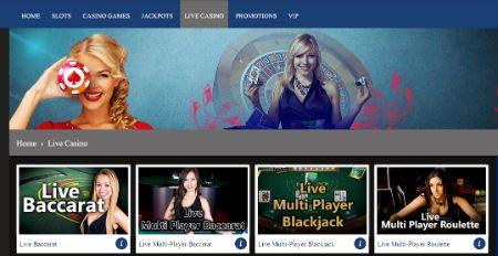 express online live casino