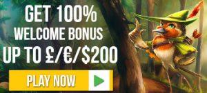 free spins deposit match welcome bonusl