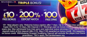 BEST online casino signup and welcome bonus offers