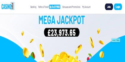 casino 2020 slots jackpot UK